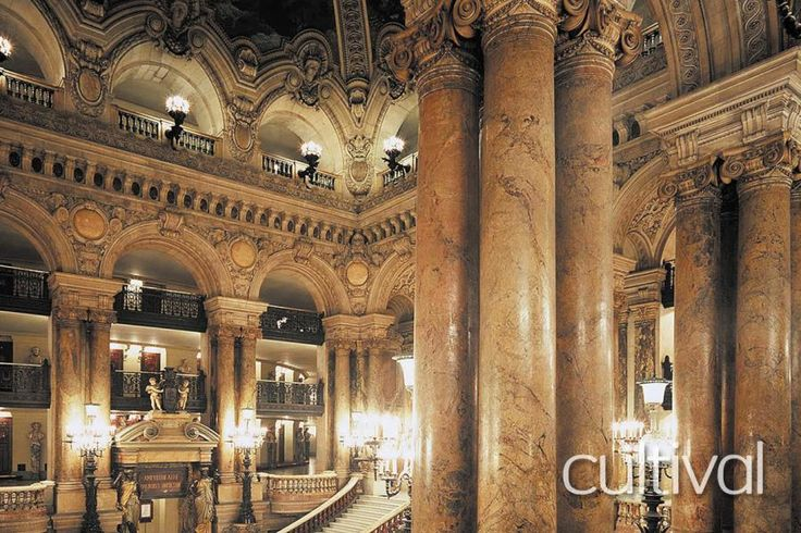 The Opera Garnier is one of the most extravagant representations of Second Empire architecture in France. Take this 90-minute guided tour through its public areas and discover flamboyant art works as you follow in the footsteps of fashionable 19th century French society with Tourboks!