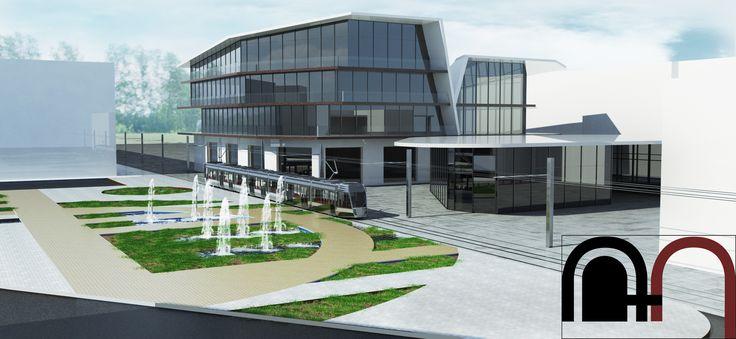 Building Office Commercial 3D 3Ds - 3D Model