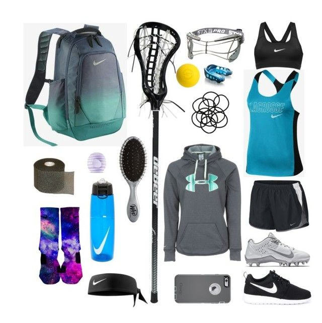 my lacrosse bag by sleepthedayaway on Polyvore