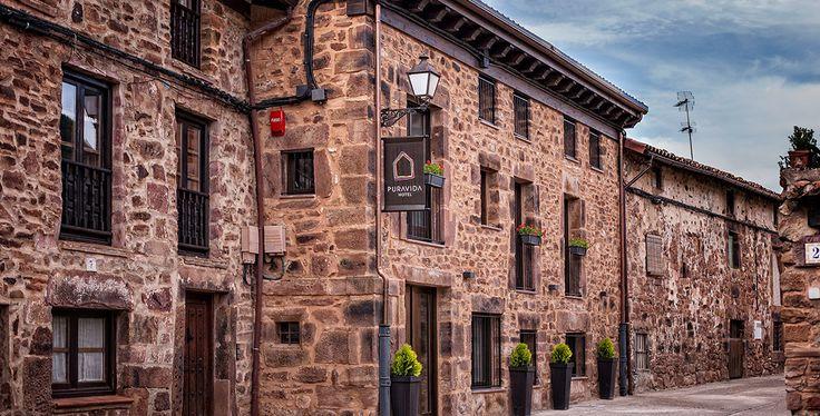 Hotel Pura Vida en Valgañón La Rioja.4km de Ezcaray