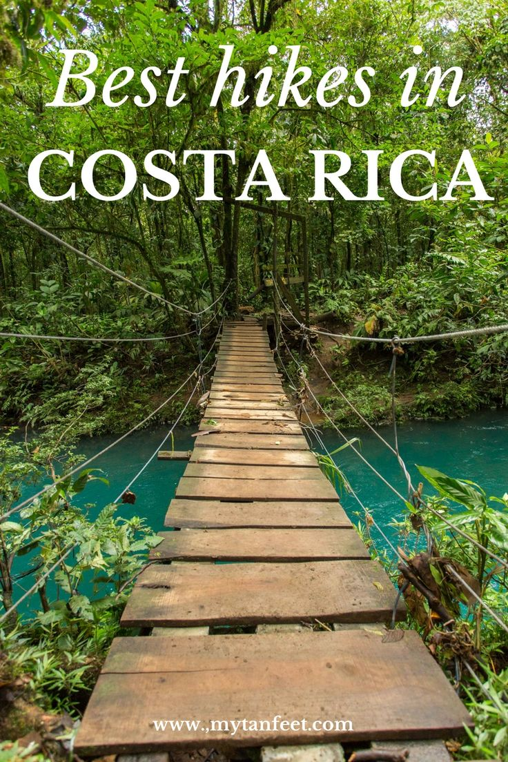 10 great hikes in Costa Rica - hiking to waterfalls, in national parks,   etc. Click through to read more:   https://mytanfeet.com/activities/10-hikes-costa-rica/    Costa Rica | Costa Rica travel tips | Costa Rica travel blog | hiking in   Costa Rica