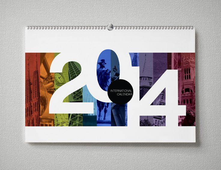 Calendar Cover Design Ideas : Best images about design calendar cards on