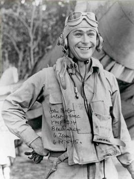 Lt. John Bolt of VMF-214 Black Sheep Squadron only Marine Jet Ace and the Navy's only Two-War Ace - Stardust Studios
