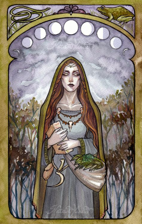 "Eir (""mercy"") is a Norse Goddess of Healing. She knew the secret powers of herbs, with which she could even resurrect the dead. Patroness of shadow workers, called on against sickness or injury. She gives both physical and psychic means of healing; shamanic healing, especially, falls into her realm. Eir is a companion of the goddess Frigga."