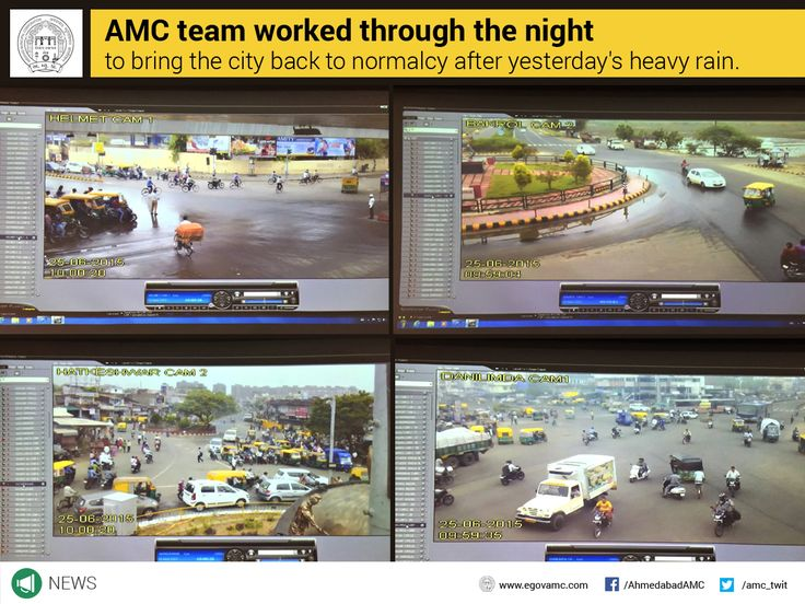 AMC Team worked through the night to bring the city back to normalcy after yesterday's heavy rain.  See which areas are free of traffic.... https://goo.gl/Cp1hCj