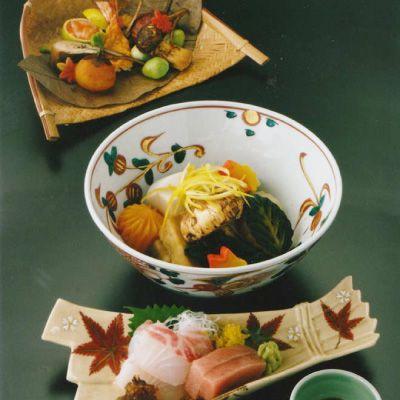 Kyoto style cuisine