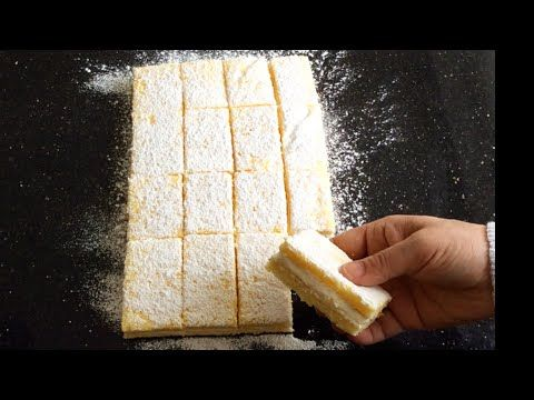 Yok Böyle Bir Lezzet Limonlu Süt Dilimi bera tatlidunyasi - YouTube