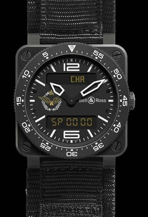 Bell and Ross BR03 Type Aviation French Air Force Watch: For 250 Really Lucky Fighter Pilots (At First)