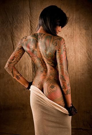 nice example how beautiful tattoos can by on woman