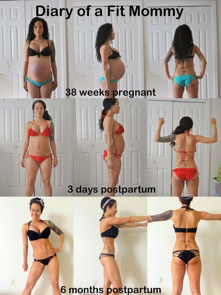 Body After Baby: Fit Mommy 6 Month Postpartum Update & PHOTOS