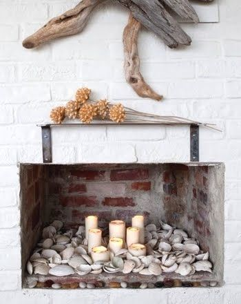 Candles In Fireplace Ideas 44 best alternate fireplace ideas images on pinterest | fireplace