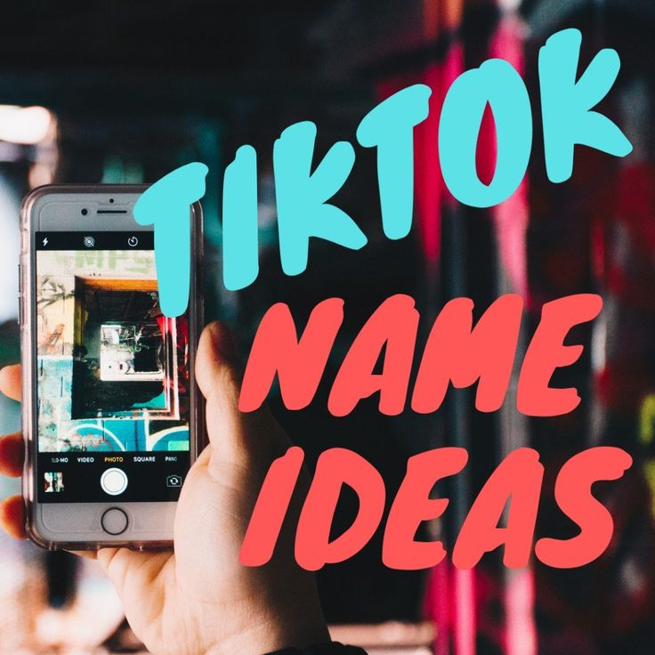 200+ TikTok Username Ideas and Name Generator in 2020