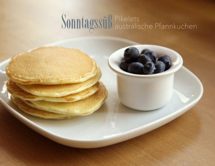 Sonntagssüß: Pikelets: australische Pfannkuchen