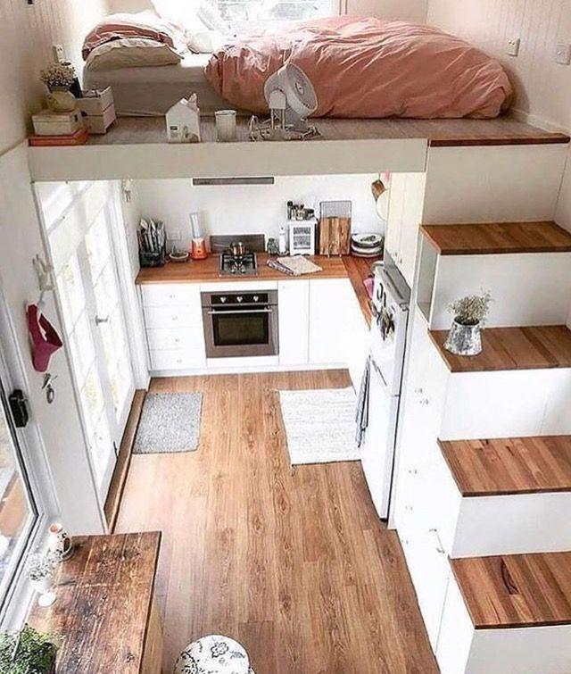 No hacer la cocina debajo del dormitorio