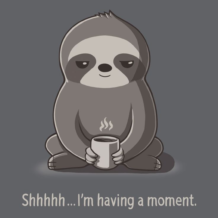 Slow Morning - This t-shirt is only available at TeeTurtle! Exclusive graphic designs on super soft 100% cotton tees.