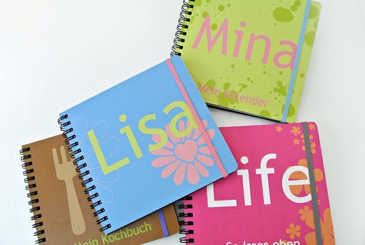 Bring Farbe in Dein Leben! #Premiumkalender Lederfasermaterial direkt bedruckt mit Deinem Cover-Design
