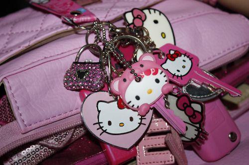 Hello Kitty Purse Charms