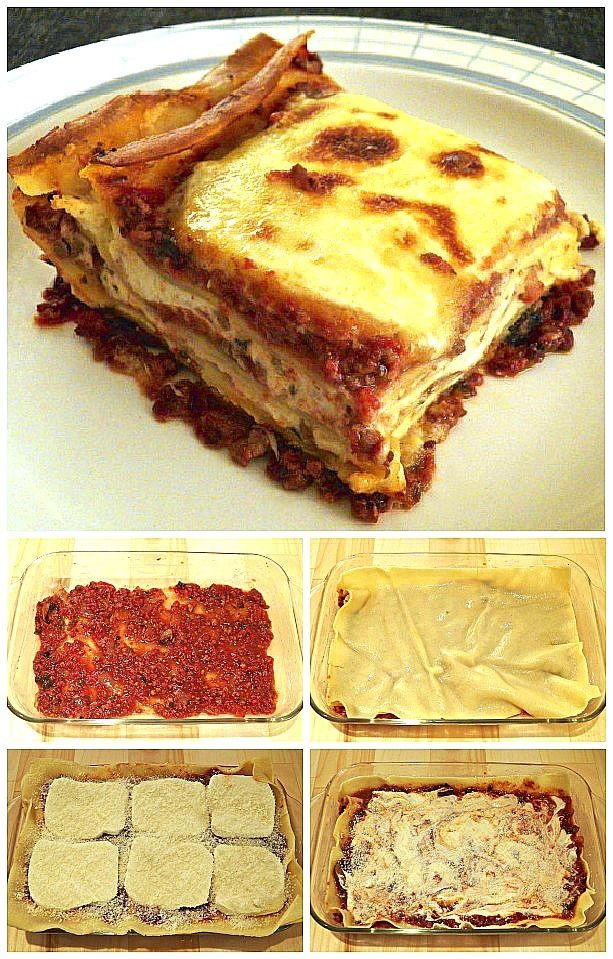 A US Family with Roots in Le Marche and their recipes: Lasagna Bartolini