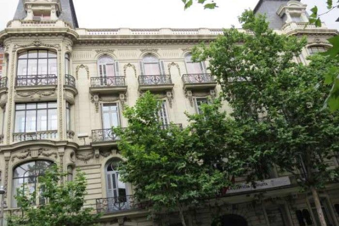 imagenes FACHADA COLEGIO ABOGADOS MADRID   Casa-Palacio del Marqués de Portazgo