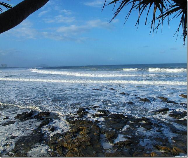Big seas Alexandra Headland