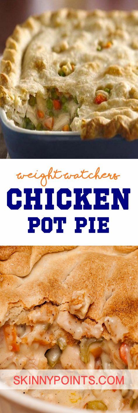 Chicken Pot Pie - Weight watchers SmartPoints 5