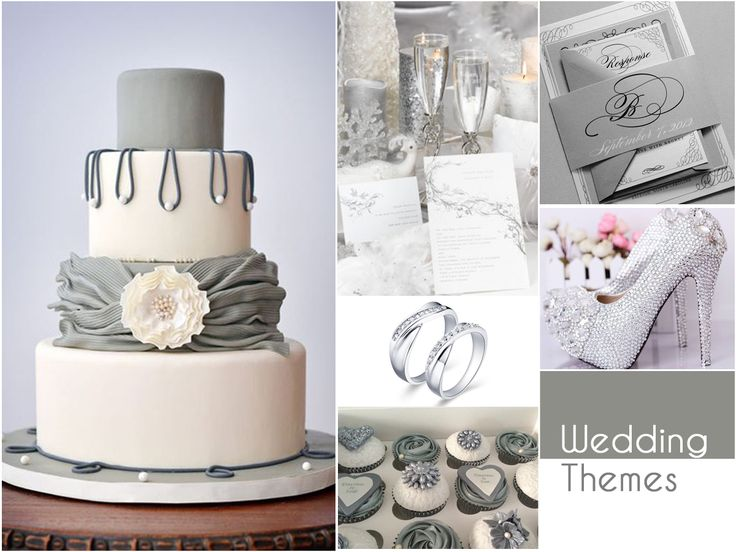 Nothing spells elegance better than Silver & White. A classic and sophisticated pick, this combination is all about adding a fairy tale charm to your wedding.#WeddingThemes