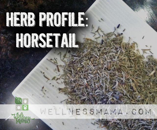 how to make horsetail tea