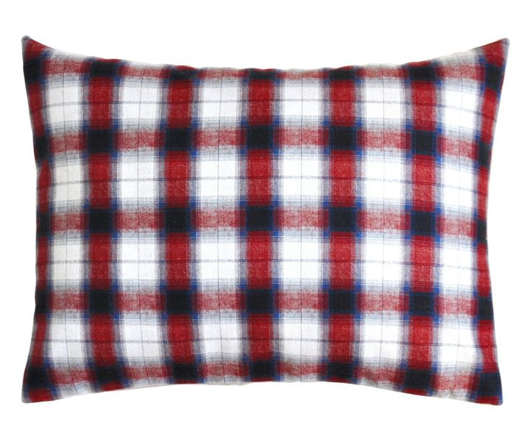 coussin, cushion, carreaux, Heritage Studio, linge de maison,
