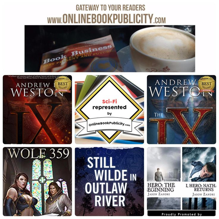 The Best Sci-Fi Adventures start at Online Book Publicity: http://www.onlinebookpublicity.com/science-fiction.html Add a book: http://www.onlinebookpublicity.com/bookpromotion.html