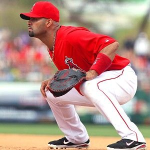 Albert Pujols has his eyes on winning the World Series in his first season with the Angels.