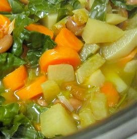 Skinny Detox Soup? It is just a healthy bean and veggie soup