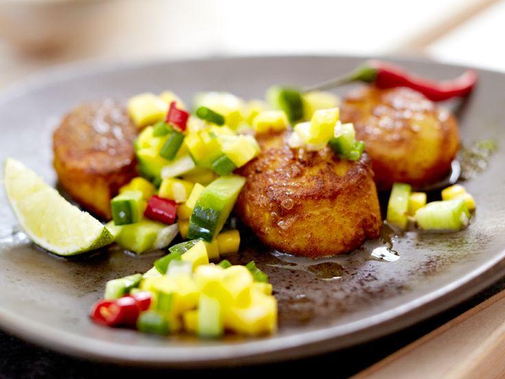 Jakobsmuscheln - die 14 besten Rezepte - curry-jakobsmuscheln  Rezept