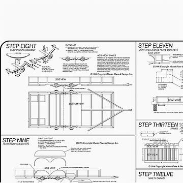 Image result for Tandem Axle Utility Trailer Plans