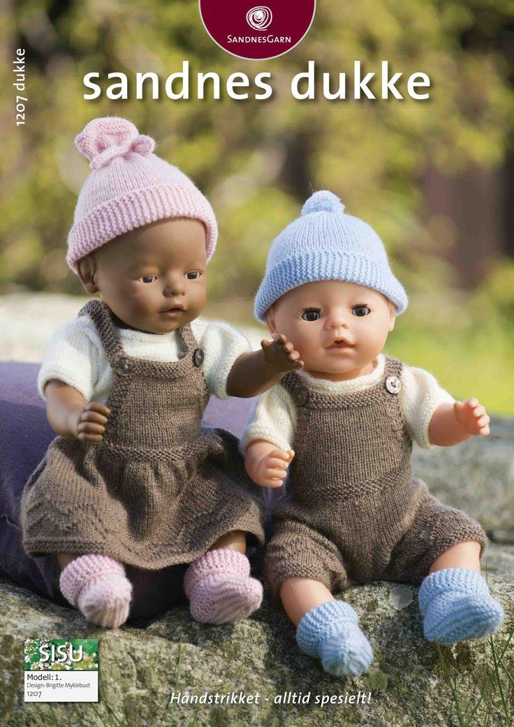 gratis oppskrifter til dukker i baby born størrelse