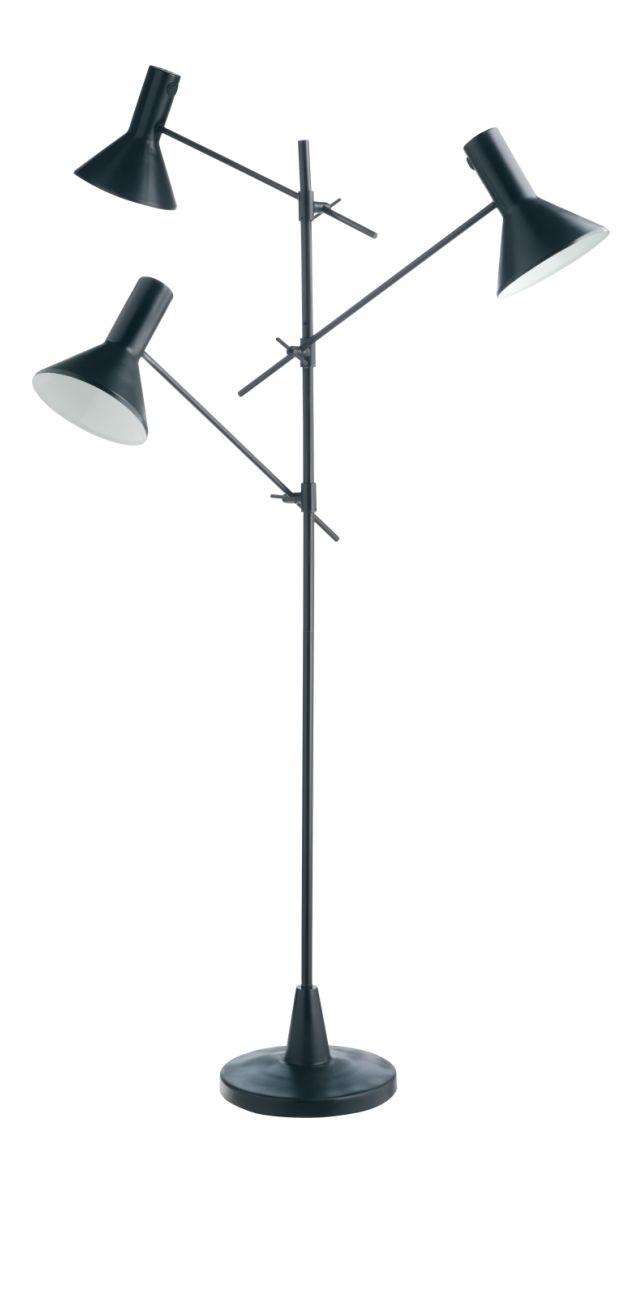 NYX Standard lamp Black Metal