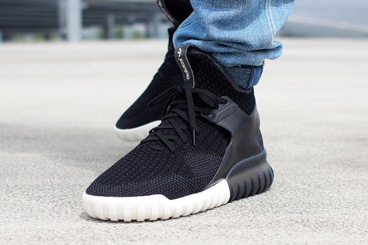 The adidas Tubular X Returns This Spring With This Black/Red