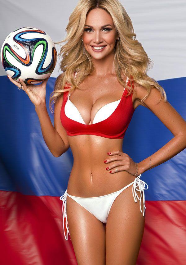 Виктория Лопырева футбольная фанатка