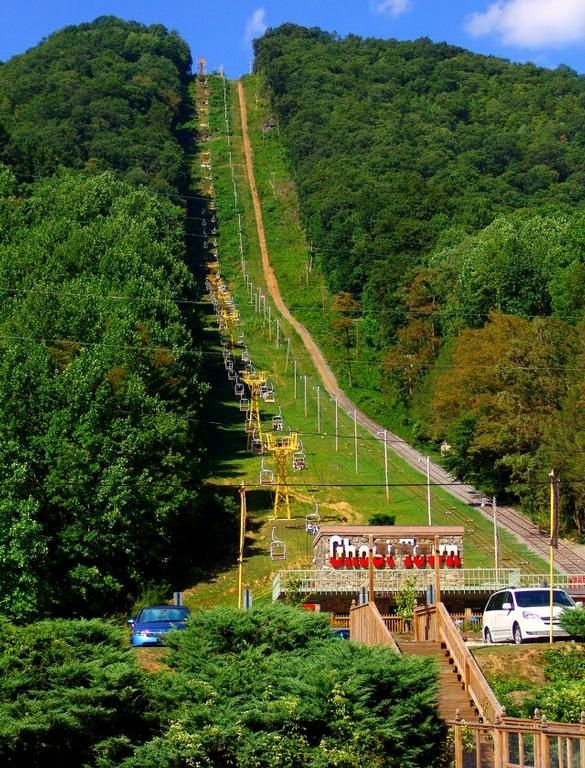 Ghost Town In The Sky. Maggie Valley, North Carolina ~ Chair Lift was awesome!!!