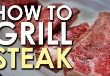 [Video] Grilling the Perfect Steak