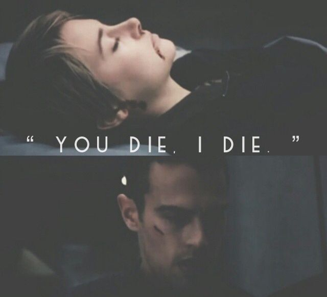 I basically cried the whole movie :'( when I saw this scene, it made me thought of Allegiant :(