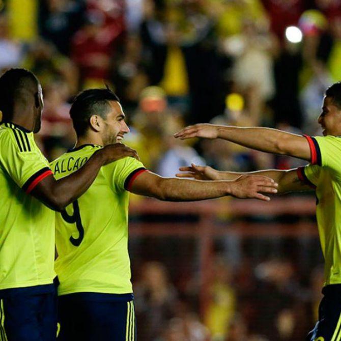 Con gol de Falcao, Colombia venció 1-0 a Costa Rica.  #ColSelection #Amistosos #Colombia