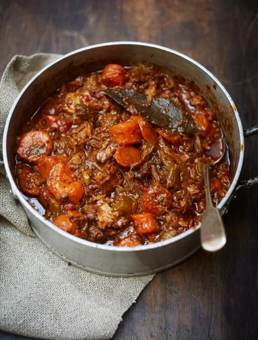 Insanely good oxtail stew | Jamie Oliver | Food | Jamie Oliver *****Added 2T tomato paste and 1 can tomato sauce 6 red potatoes chopped. Add them after you refrigerate the first time to skim off the fat
