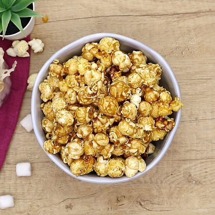 Popcorn wie im Kino zum Selbermachen