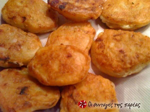 Αλμυρά pancakes με καπνιστό κασέρι #sintagespareas #pancakesalmira #pancakesmetiri