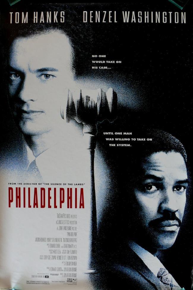 tom hanks movie posters | Philadelphia Tom Hanks Movie Poster 9 / iGossip