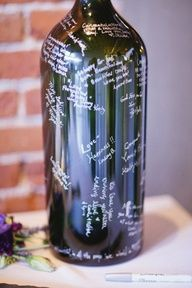 A clever way to remember your special day.