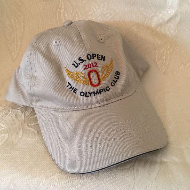 U.S. Open 2012 The Olympic Club Embroidered Hat One Size USGA Member Golf Cap #USGA #BaseballCap