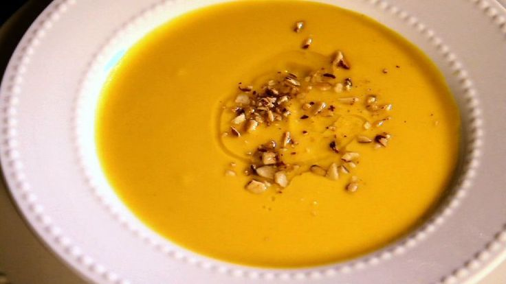 Holiday Sweet Potato Soup Terry Wolf Ted Tinling