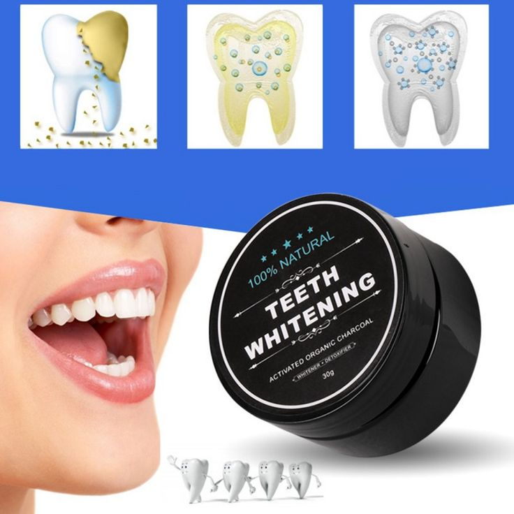 100% Natural Teeth Whitening Powder Activated Bamboo Charcoal Smoke Coffee Tooth Stain Cleaning  Cheap - NewChic Mobile.