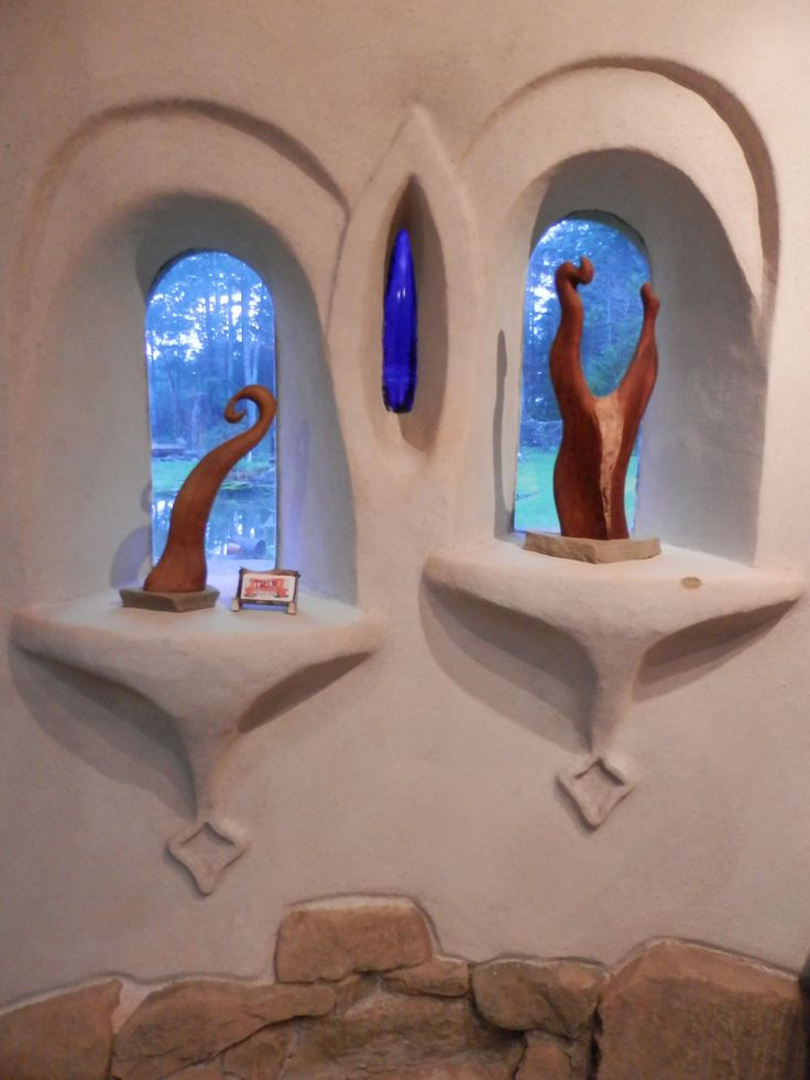 Sculptures in the shop- Thuja Wood Art